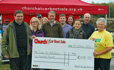 Chelmsford Churches Help the Essex Air Ambulance