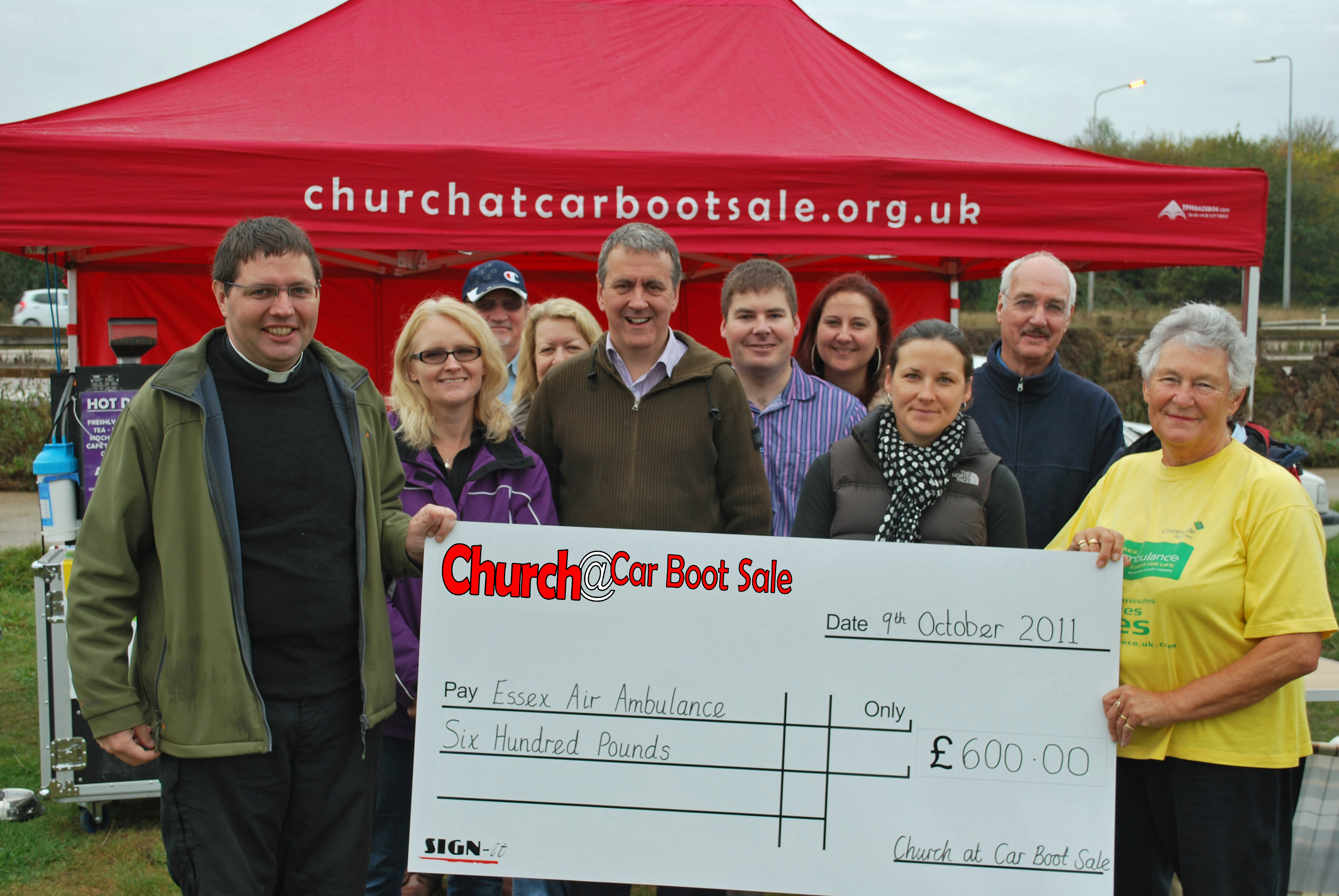 Chelmsford Churches Raise Money for the Essex Air Ambulance